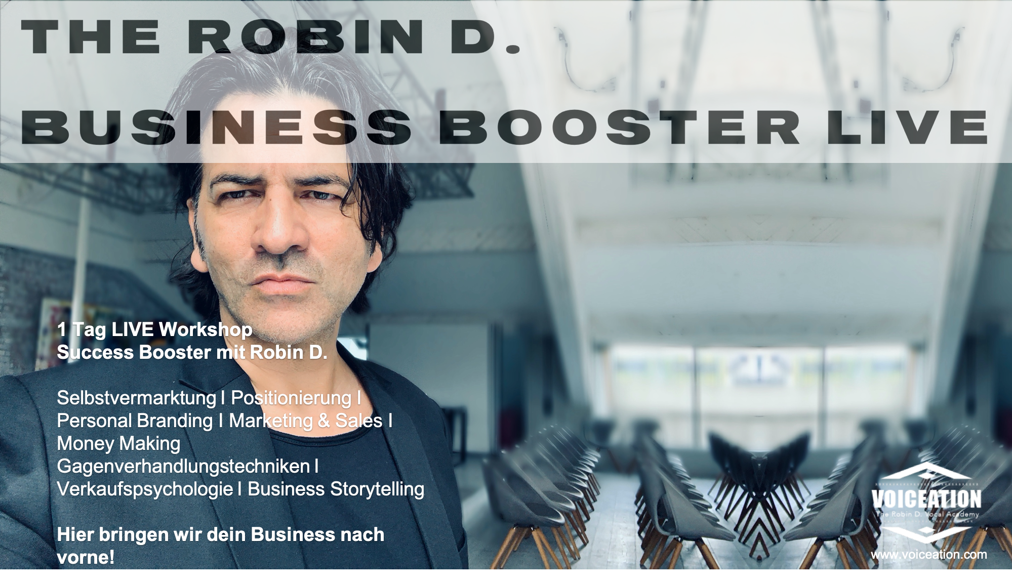 The Robin D. Business Booster LIVE